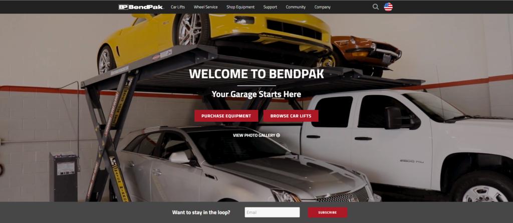 BendPak這家公司賣一堆修車配備器材,其中汽車升降機及頂車機受到汽車維修廠喜愛,不管是汽車升降機還是頂車機或是車廠車庫設備像是推車,傳動千斤頂ship2tw都可以協助