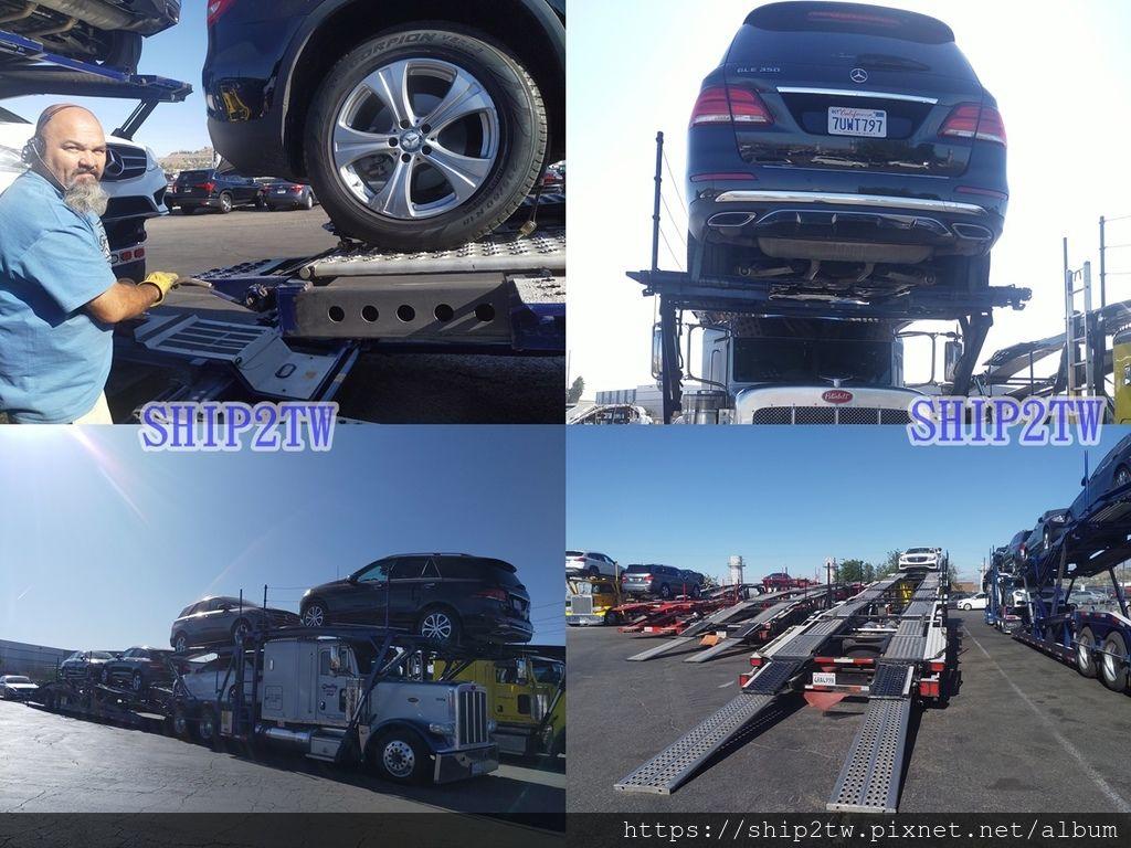 美國洛杉磯汽車海運回台灣的流程很簡單但是其中需要協作的細節很複雜,涉及美國陸運、海運、台灣報關、ARTC車測及監理站領牌、汽車保險等,上圖為Ship2TW為美國華僑張小姐將自用車賓士GLE350用拖車方式送往Ship2TW倉庫的照片,住在洛杉磯唐人街不遠的張小姐的拖車費用約為350美金,如果是從美國東岸紐約拖車到加州費用約為1500美元左右拖車時間也需要比較長平均需要9-10天,自用車海運回台灣划算嗎?Ship2TW協助海運美國汽車回台灣的經驗美國車價便宜即使加上運車回台灣的相關費用大部分都蠻划算,有些車款年份買美國中古車再海運回台灣才比較有優勢喔!