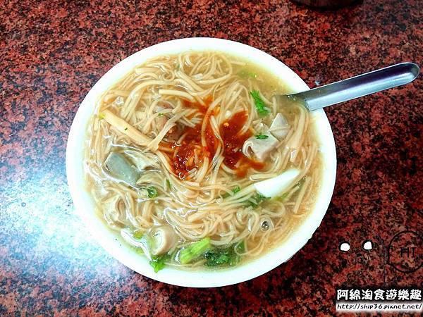 【桃園小吃】鶯歌張麵線羹-超美味!海陸雙拼麵線