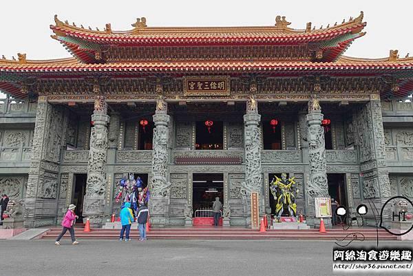 【桃園旅遊】明倫三聖宮-虎頭山上老寺廟新思維