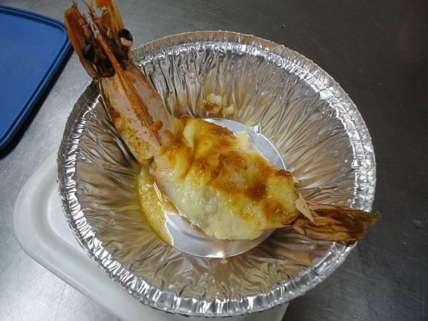 奶油焗大蝦