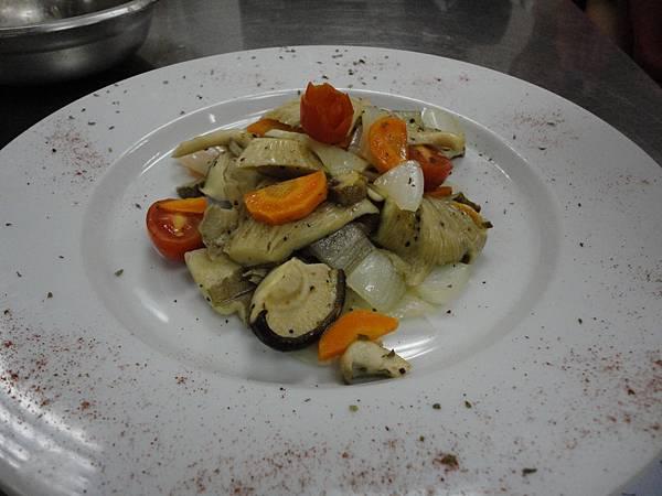 義式野菇沙拉
