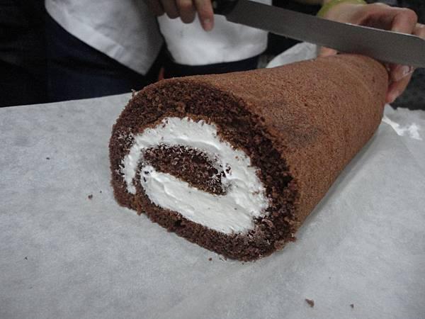 巧克力瑞士捲