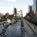 韓國~清溪川