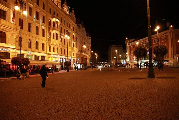 布拉格的夜晚