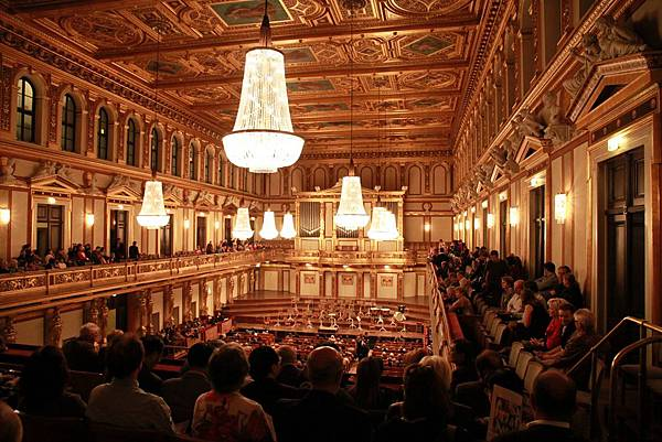 The Musikverein, Vienna
