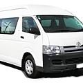 New Zealand Rent a Car Toyota Hiace GroupM