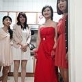 新娘與伴娘們
