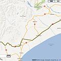 Map_Christchurch to Lake Tekapo