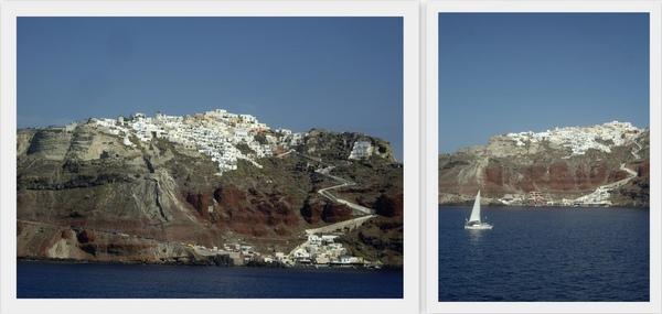 Naxos to Santorini