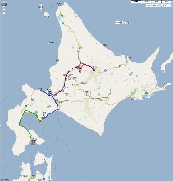 GPS Map - Hokkaido