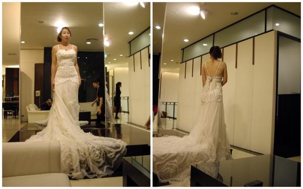 試拍照婚紗