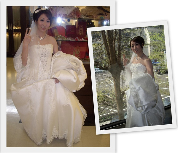 拍婚紗照當天