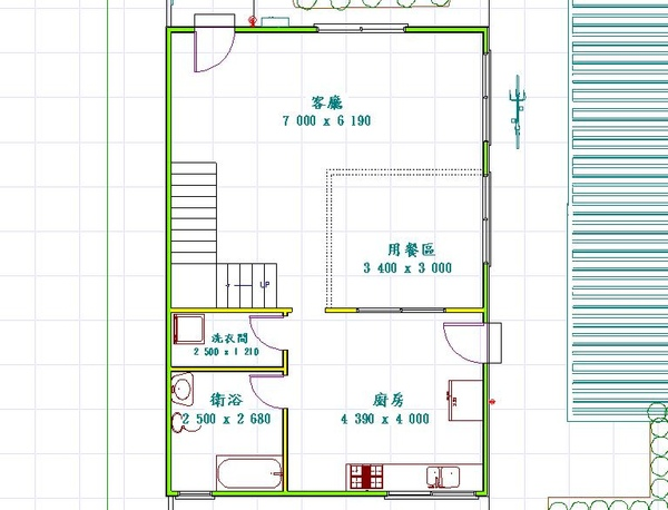 兩房廳雙層小別墅