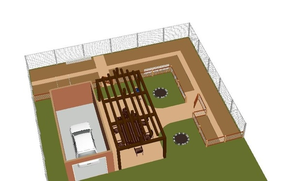 2009三房一廳花園設計