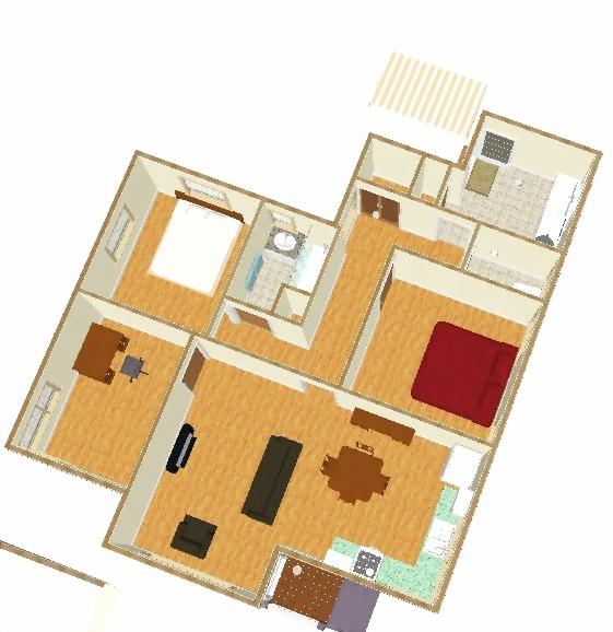 2009三房一聽室內3D