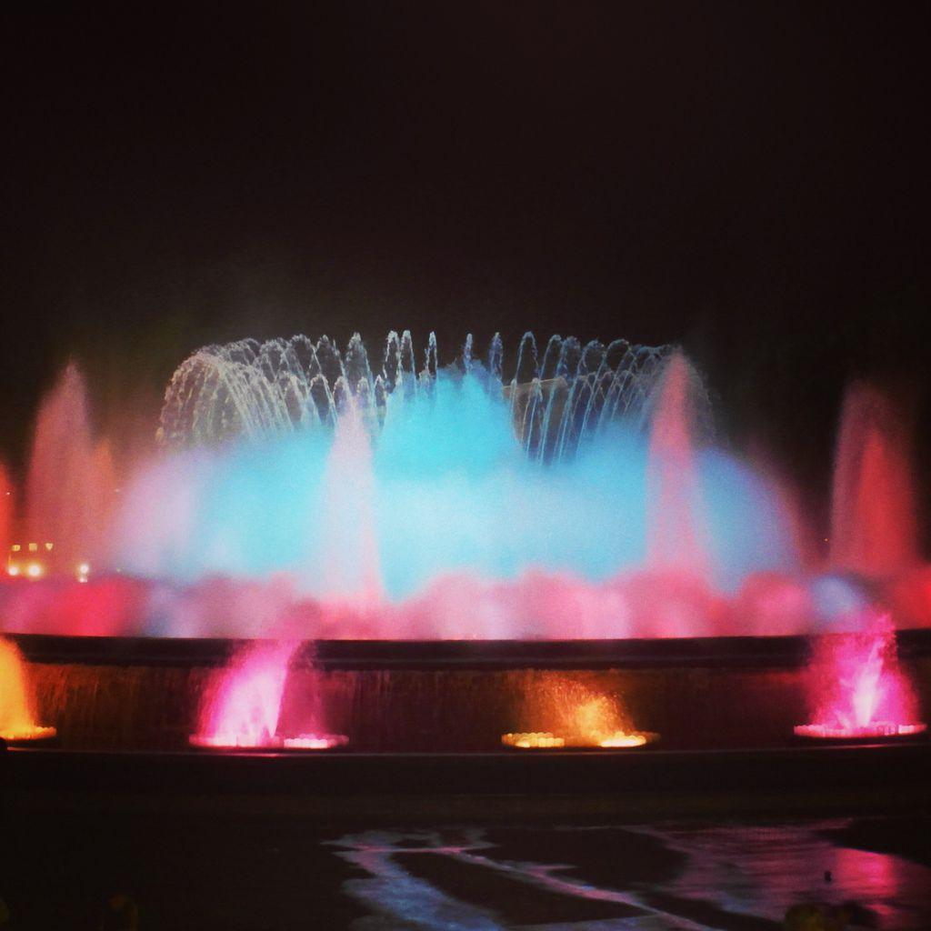巴賽隆納-魔幻噴泉03