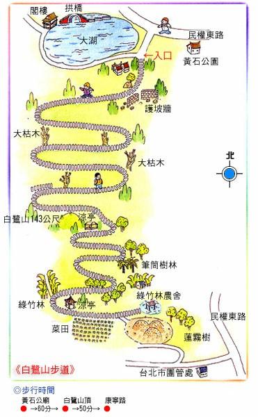 白鷺山步道