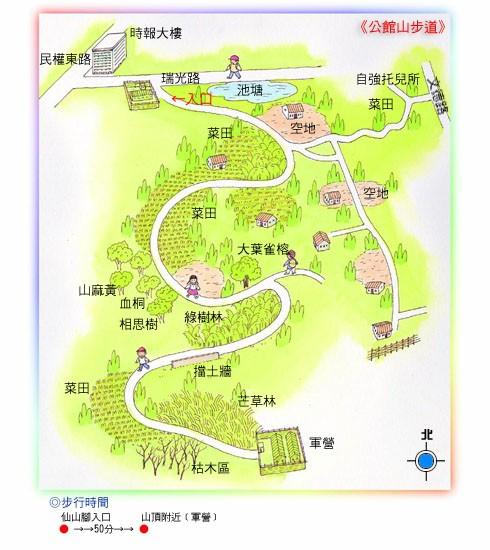 公館山步道