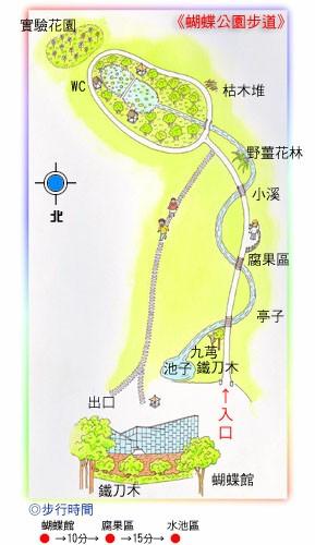 蝴蝶公園步道