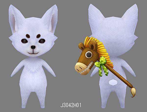 狐吉-木馬背飾