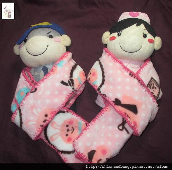 粉紅兔冬毯遊戲毯5