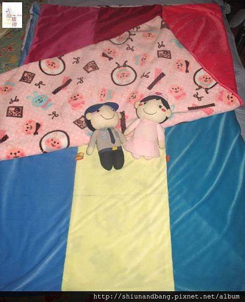 淺紫貓冬毯2