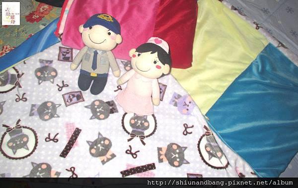 淺紫貓冬毯3