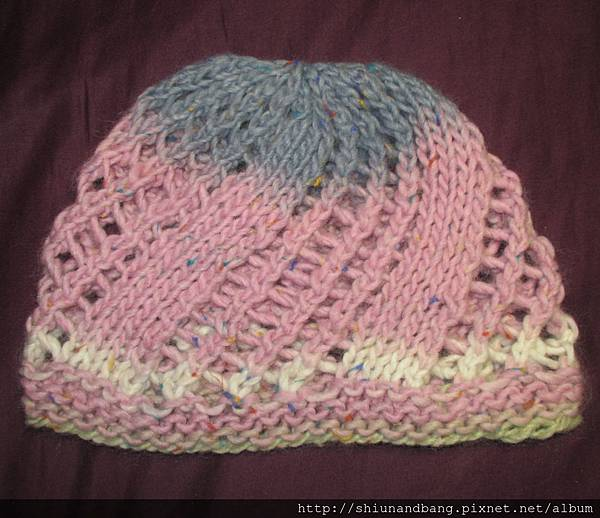 空花平針帽1