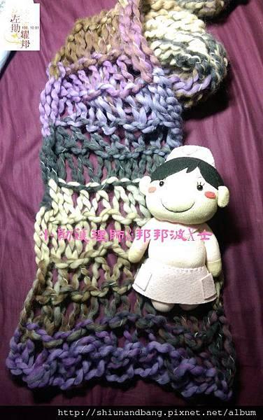 20151015手腕圍巾 5