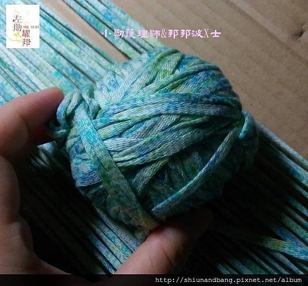 20151024方格圍巾 4
