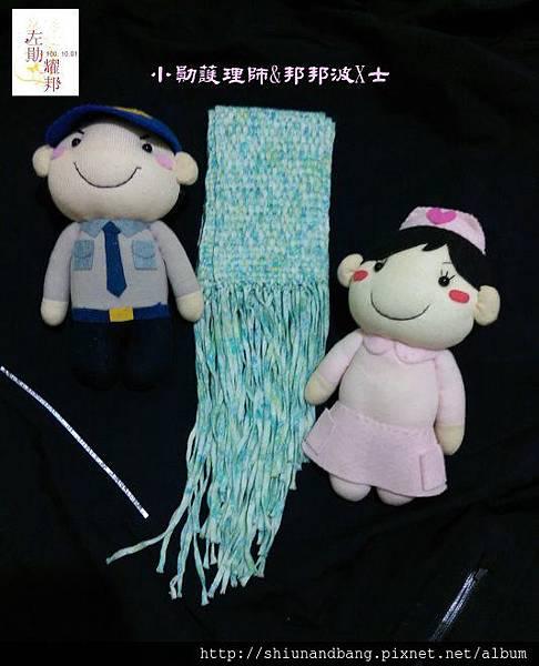 20151024方格圍巾 5