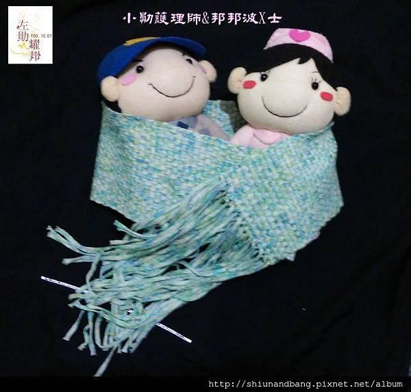 20151024方格圍巾 6