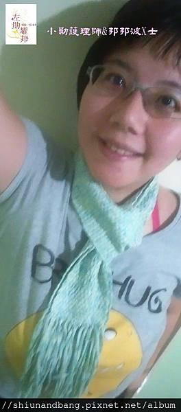20151024方格圍巾 7