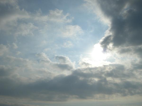 很漂亮的雲