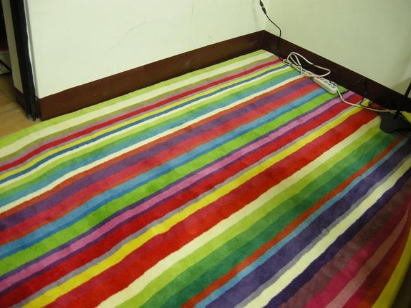 這就是我新的彩色隔音地毯