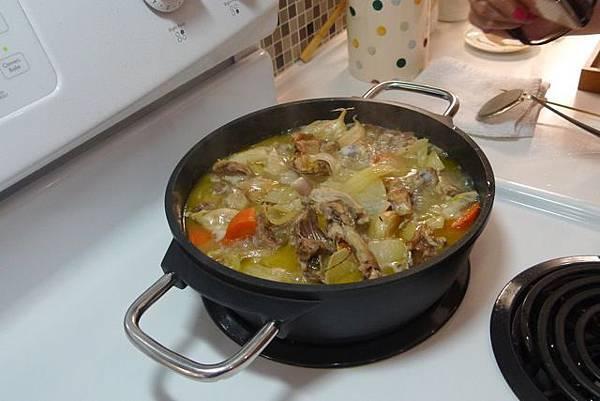 續作蔬菜雞汁
