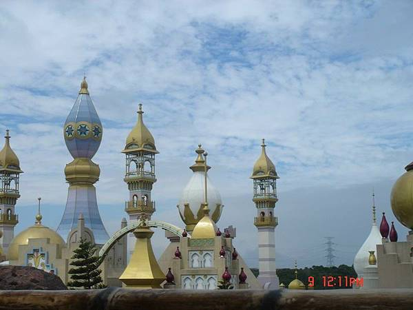 漂亮的阿拉伯宮殿