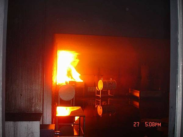 模擬火災現場1