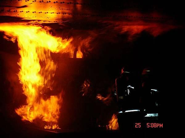 模擬火災現場2