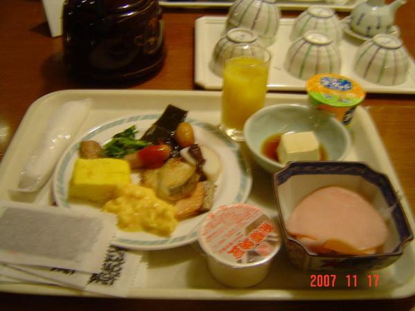 HIDA廣場溫泉飯店(自助餐早餐)
