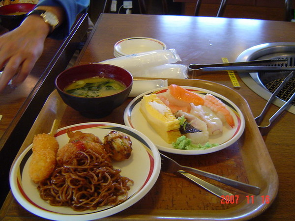 中餐2(日式自助燒烤)