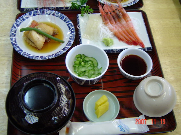 北陸海鮮套餐