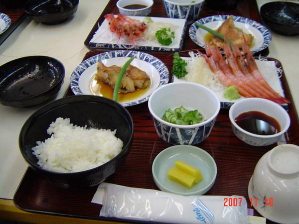 北陸海鮮套餐1