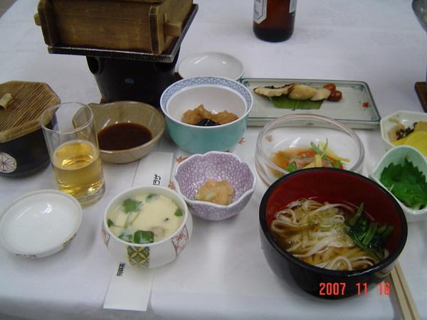 晚餐~日式會席料理1