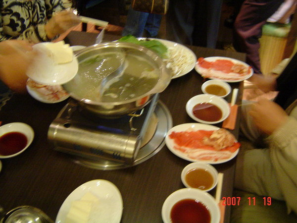 晚餐~火鍋店2