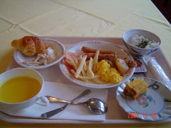 穗高飯店(自助式早餐)