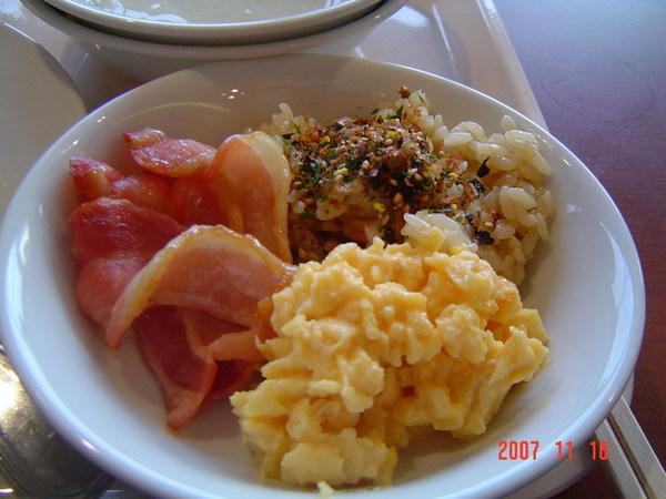 自助式早餐1(日本的飯都很好吃哦)