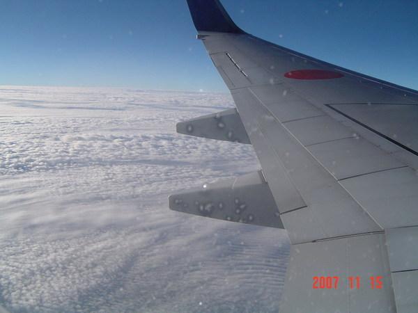 飛機上的景觀
