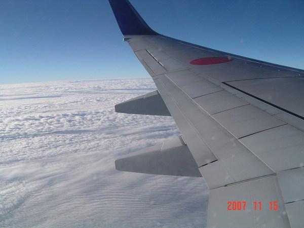 飛機上的景觀2